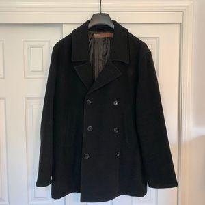 Perry Ellis Men's Pea Coat, Size XL